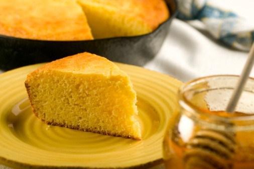 Кукурузное печенье с медом