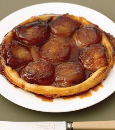 Яблочный пирог карамелизированный