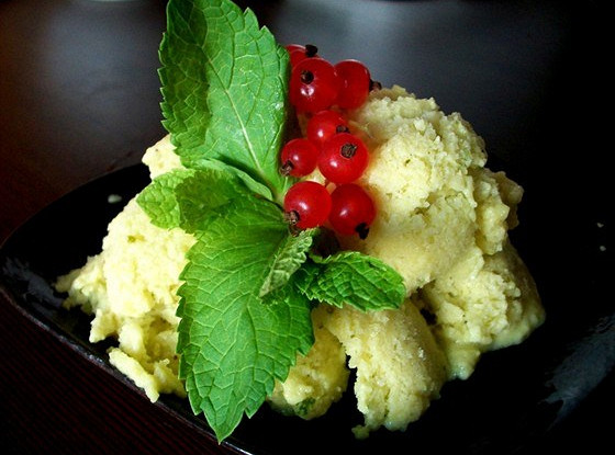 Мороженое из авокадо и лаймов