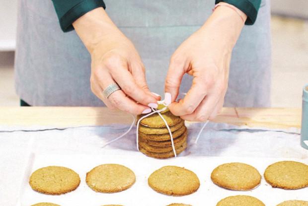 Печенье из тыквенной муки