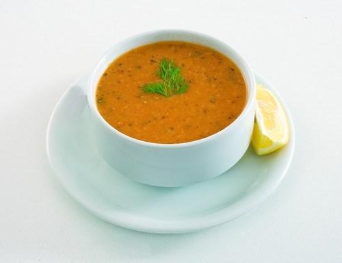Суп-пюре из жареного пастернака со специями