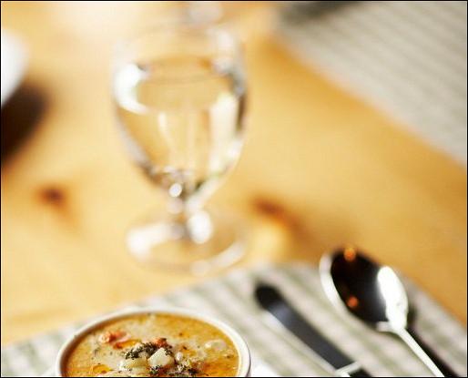 Суп из батата с чили и Грюйером
