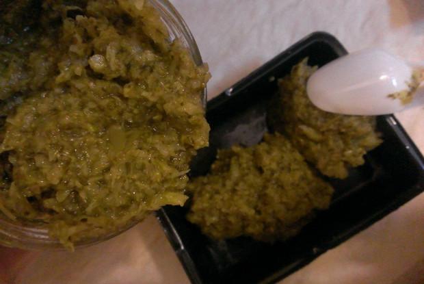 Паровое пюре из брокколи