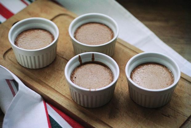 Райский шоколадный пудинг