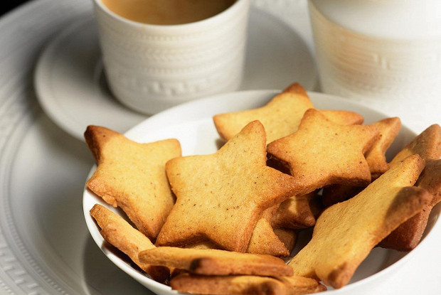 Имбирное печенье с ванильным сахаром