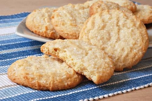 Песочное печенье с тростниковым сахаром
