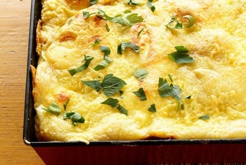 Классическое сырное суфле