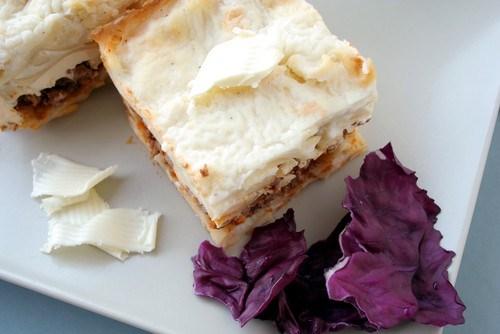 Мясной пирог по-кефалонийски