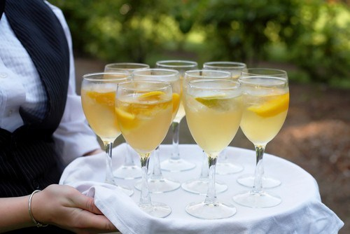 Лимонное шампанское