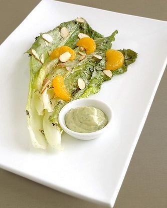 Йогуртовая салатная заправка с авокадо и кинзой