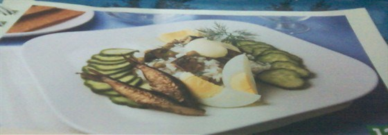 Салат со шпротами «Старая Рига»