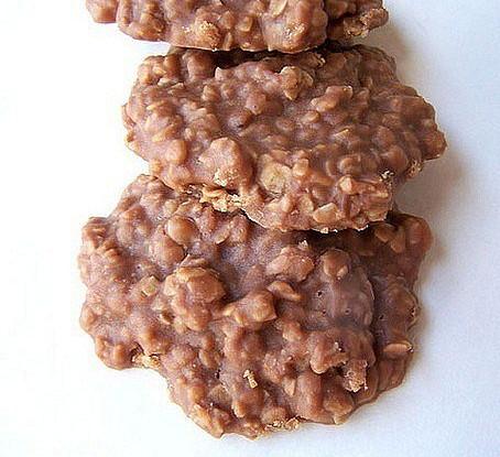Овсяное печенье без запекания