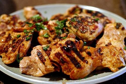 Курица с лаймом и текилой