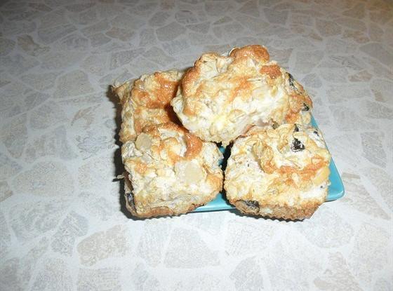 Воздушное пирожное из мюсли