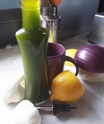 Оливковое масло с зеленью