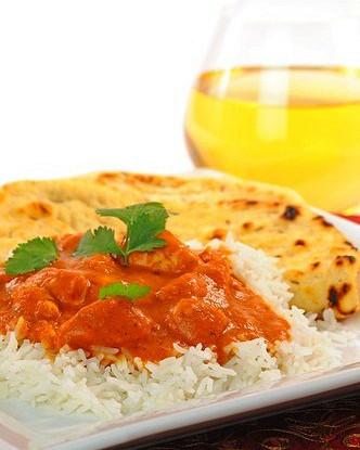 Курица по-индийски в томатно-сливочном соусе