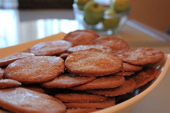 Шоколадно-апельсиновое печенье с цедрой