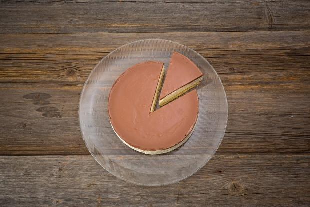 Торт «Птичье молоко» в молочном шоколаде