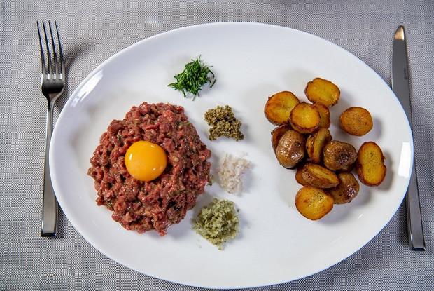 Классический тартар из говядины