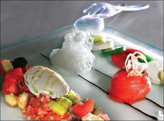 Современный греческий салат