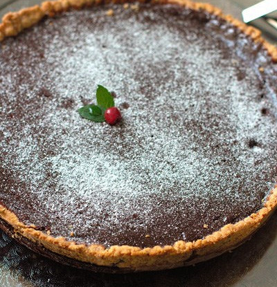 Шоколадный тарт по рецепту Жерара Депардье