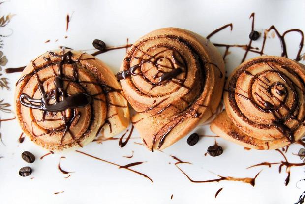 Синнабоны с корицей и шоколадом