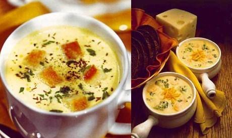 Швейцарский суп с сыром
