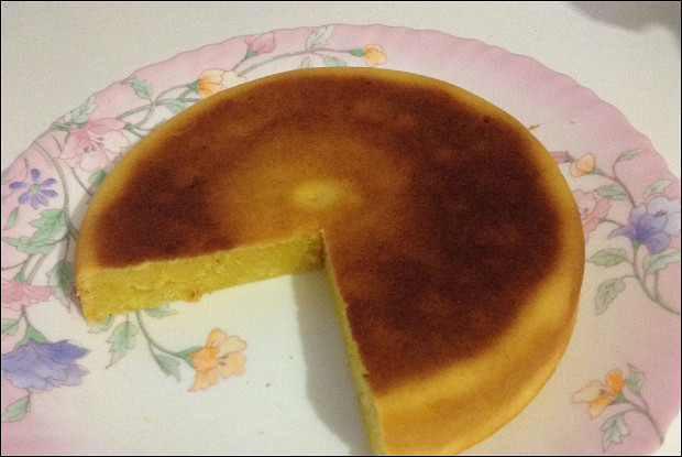 Кекс с апельсиновым соком в мультиварке