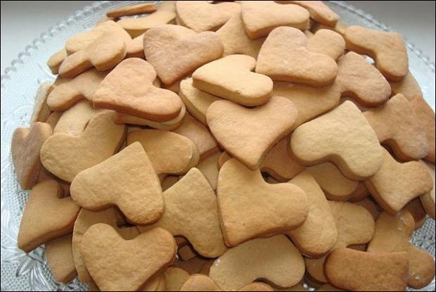 Медовое домашнее печенье