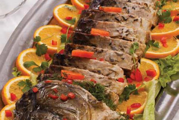 Рыба фаршированная — гефилте фиш