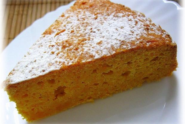 Итальянский творожный кекс на кукурузной муке