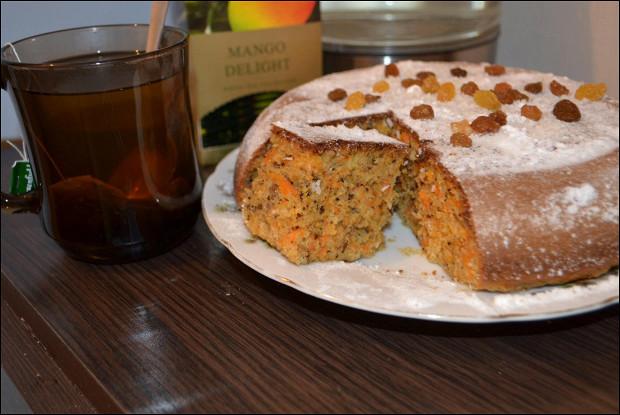 Английский кекс (морковный)