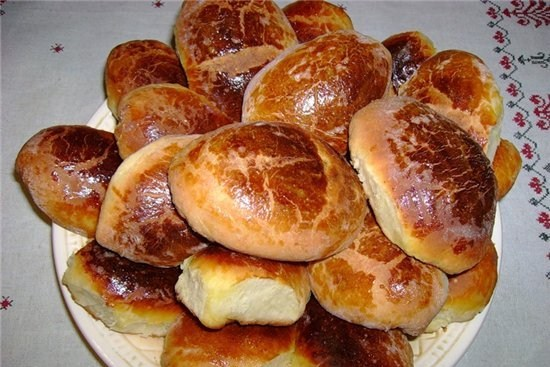 Пироги со сладкой начинкой