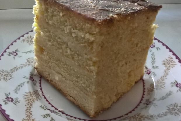 Торт песочный без сливочного масла