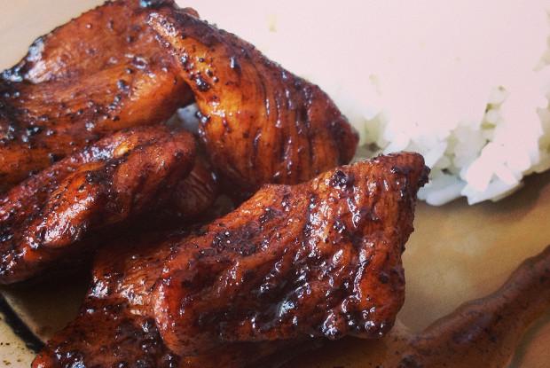 Курица в бальзамической карамели