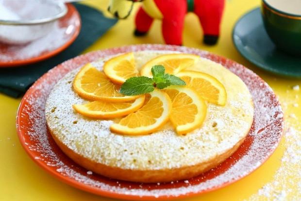 Кекс с апельсиновым соком