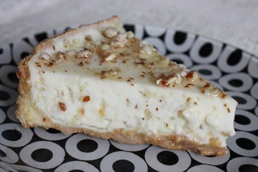 Чизкейк с пралине из грецких орехов