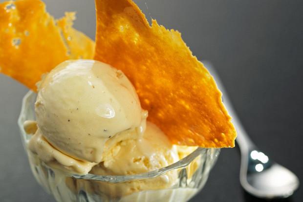 Мороженое из лаванды