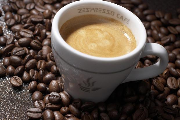 Райский кофе с медом и малиновым соком