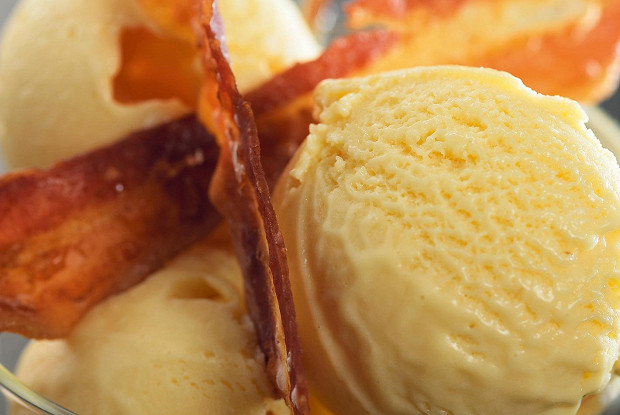 Мороженое из бекона