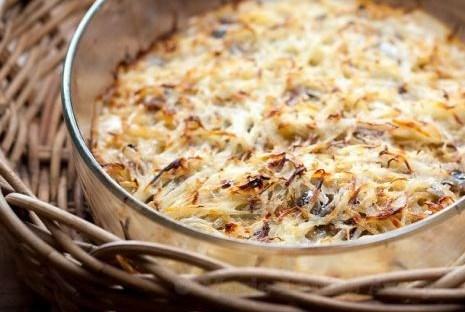 Запеченный картофель с анчоусами (Janssons frestelse)