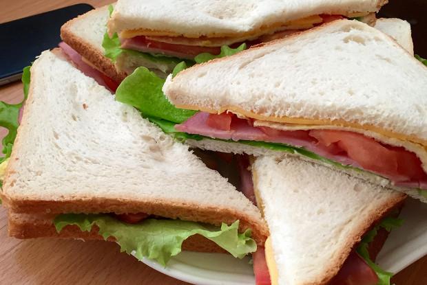 Сэндвичи с омлетом