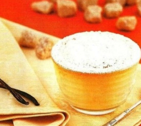 Ванильно-медовое суфле