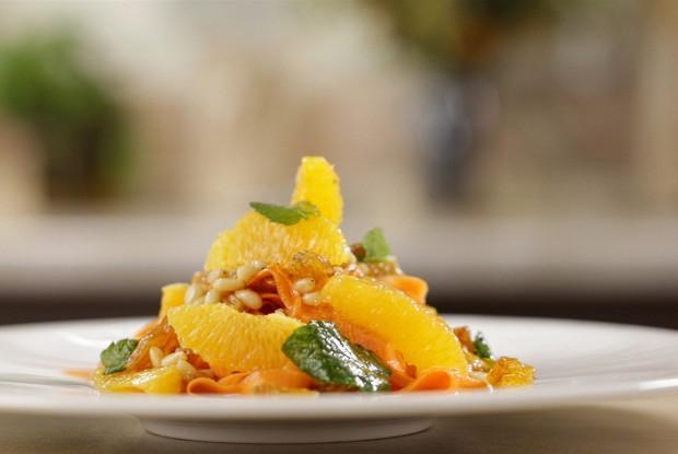 Марокканский салат с морковью и апельсинами