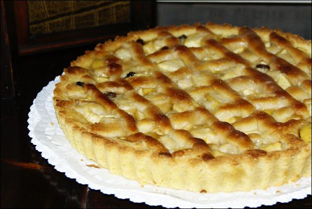 Итальянский пирог «Torta Pane e Mele...»