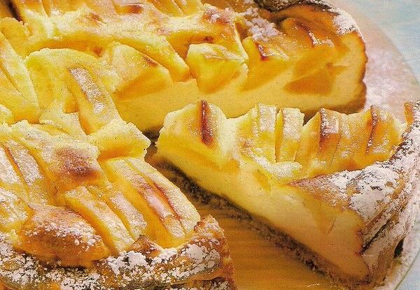 Пирог с яблоками на молоке рецепт – итальянская кухня: выпечка и ...