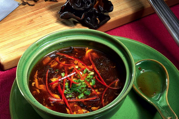 Кисло-сладкий острый суп