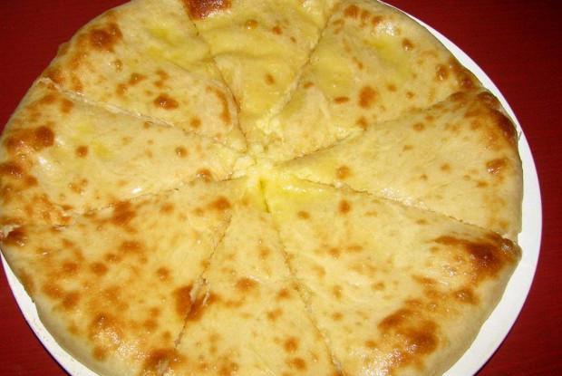 Осетинский пирог с картофелем и сыром (Картофджин)