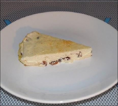 Запеканка из творога со сливочным маслом и изюмом