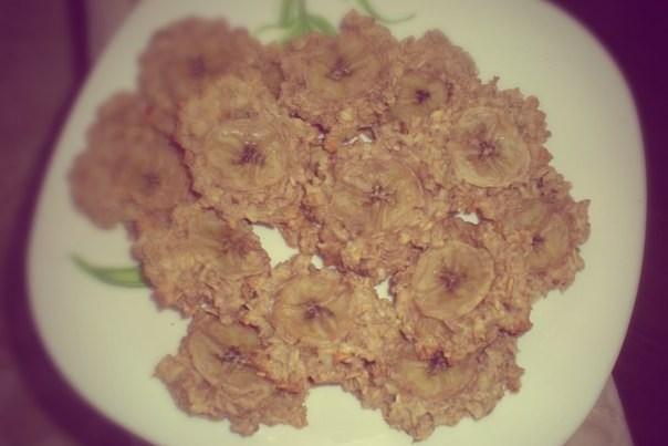 Овсяное печенье с бананами